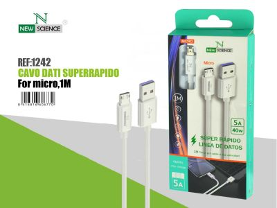 Cable Micro 40W 5A