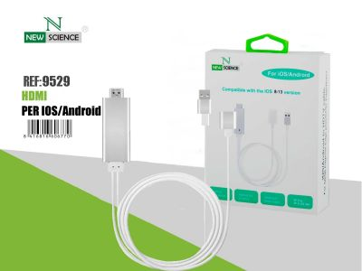 Cable HDMI para iOS/Android