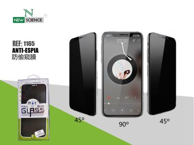"""Cristal Anti-Espia 3D Full Glue 0.2mm iPhone 12 Mini 5.4"""""""
