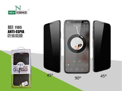 "Cristal Anti-Espia 3D Full Glue 0.2mm iPhone X/XS/11 Pro 5.8"""