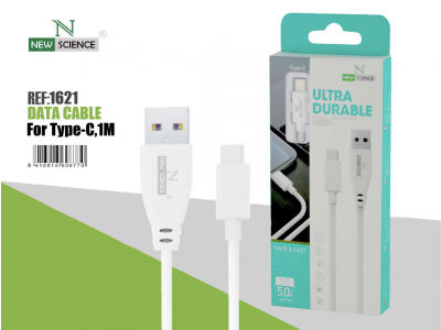 Cable Type C 5.0A Blanco NS-37