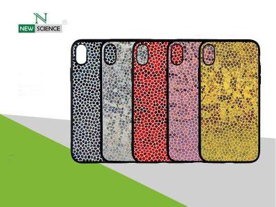 Funda Con Escamas Brillantes iPhone XR