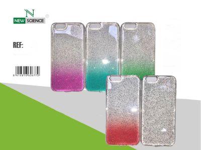 Funda Acrilica Purpurina Multicolor Redmi Note 8 Pro