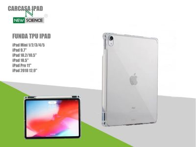 Funda iPad Transparente con Pen