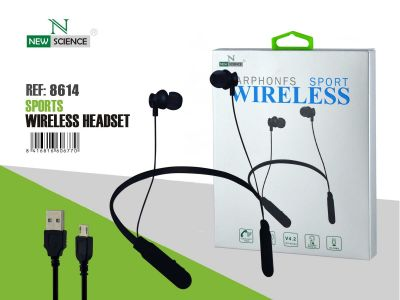 Wireless Earphones BT Negro