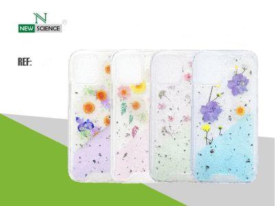 Carcasa Acrilica Flores Redmi Note 9S/9 Pro