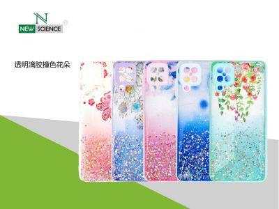 Carcasa Acrilica con Flores Redmi Note 9T