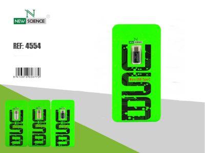Conversor Micro USB a Tipo C