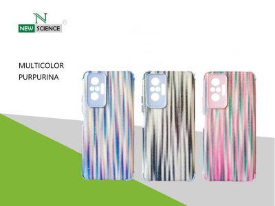 Funda Reforzada TPU Purpurina Redmi Note 10 /10S