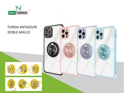 Funda Reforzada Doble Anillo Redmi Note 10 Pro
