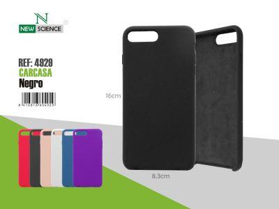 Carcasa goma iPhone X/XS