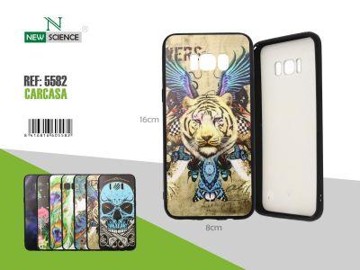Funda dura diseño Tigre
