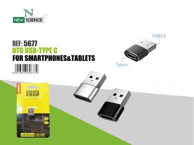 OTG USB - TYPE C Hembra