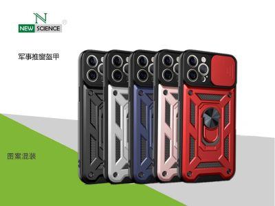 Funda Proteccion Militar con Anillo Magnetico Redmi Note 10 Pro