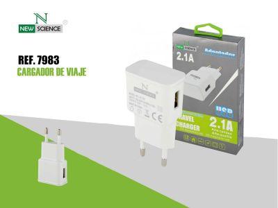Adaptador USB 2.1A