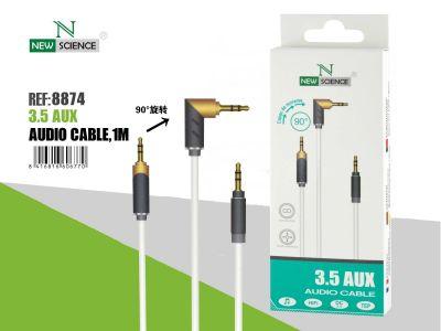 Cable AUX giratorio