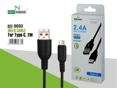 Cable Tipo C-USB 2.4A 2 Metros