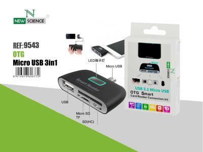 Lector Tarjeta USB 3.1-Micro USB