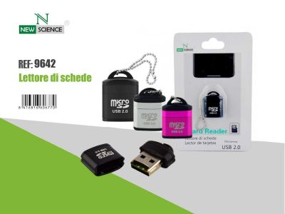 Lector Micro SD USB 2.0