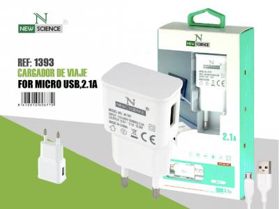 Cargador Micro USB 2.1A FC-33