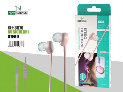 Rosa - Auriculares JS-032
