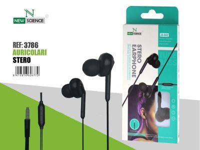 (NEGRO) Auriculares JS-042