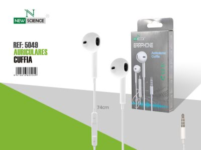 Auriculares tipo iPhone