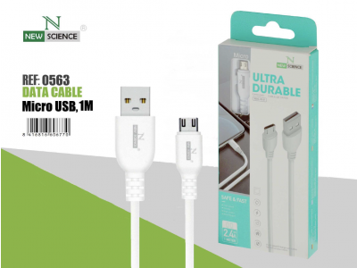 Cable Grueso Micro USB 2.4A NS-07