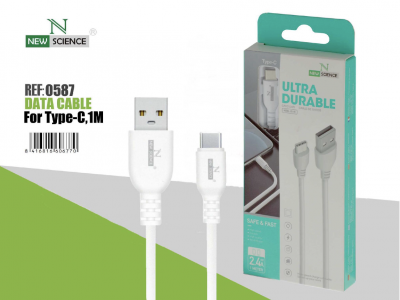 Cable Grueso Type C 2.4A NS-09