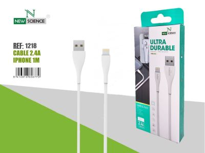 Cable iPhone 2.4A NS-21