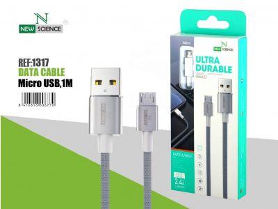 Cable Cuerda Micro 2.4A