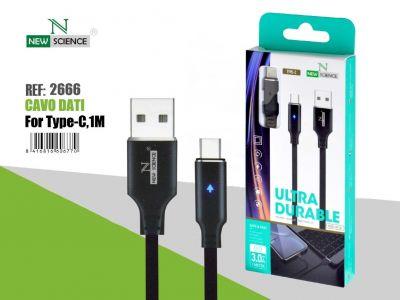 Cable Luz Type C 2.4A 1Metro NS-54
