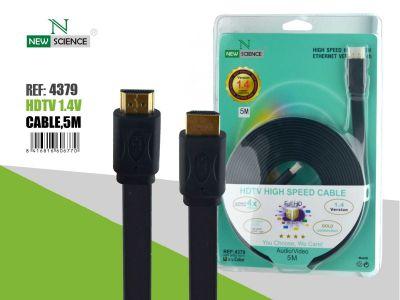 Cable HDMI Plano 5 Metros
