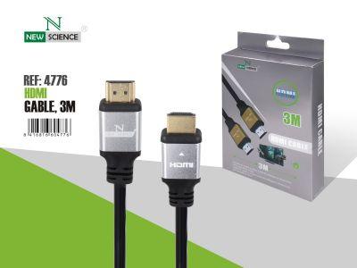 Cable HDMI Metalizado 3 Metros