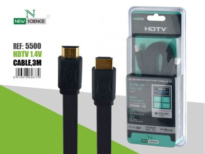 Cable HDMI Plano 3 Metros