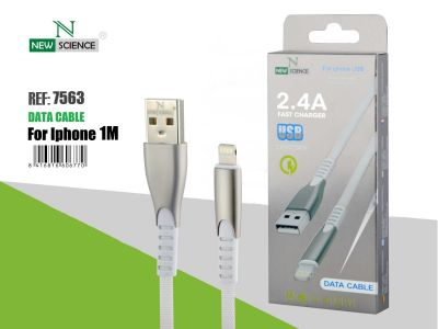 Cable iPhone Aluminio Reforzado 2.4A