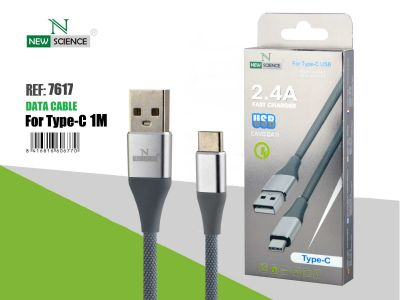 Cable metalizado Tipo C 2.4A