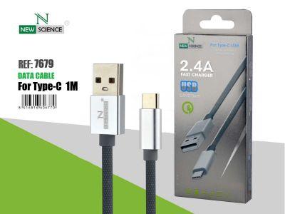 Cable cuerda Tipo C 2.4A