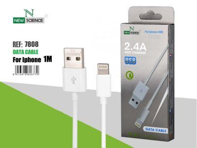 Cable iPhone 2.4A Ref. 7808