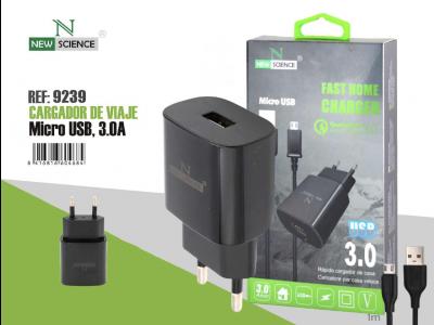 Cargador Micro USB 3.0A