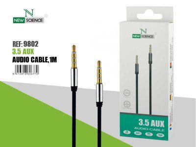 Cable Audio 3.5 Aux 1Metro Cuerda