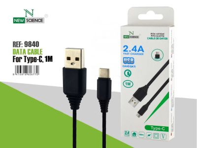 Cable Tipo-C 2.4A 1 Metro