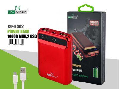Powerbank 10000 Mah Rojo