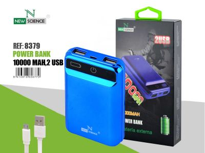 Powerbank 10000 Mah Azul