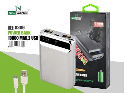 Powerbank 10000 Mah Plata