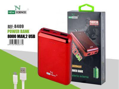 Powerbank 8000 Mah Rojo
