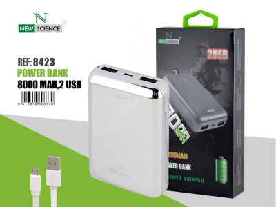 Powerbank 8000 Mah Plata