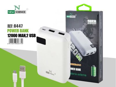 Powerbank 12000 Mah Blanco