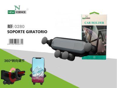 Soporte Coche Hebilla 5 Puntos-360 Giratorio
