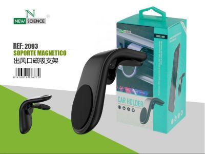 Soporte Magnetico Coche(Aire Ac.)Negro HD04